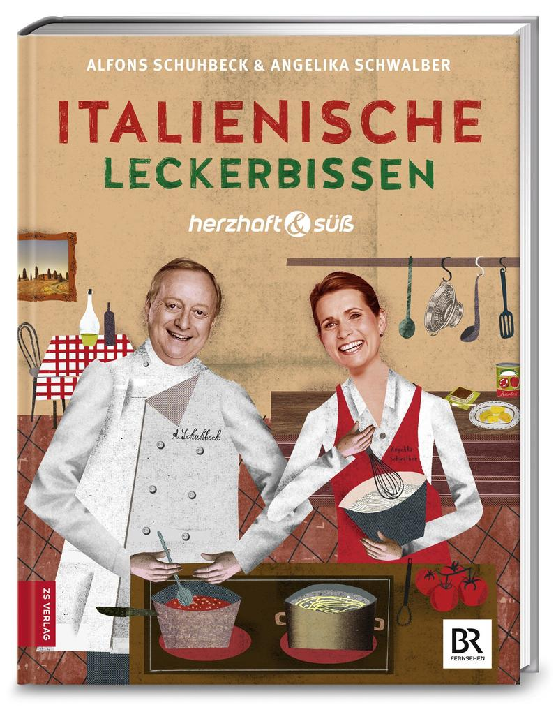 Herzhaft & süß: Italienische Leckerbissen als Buch