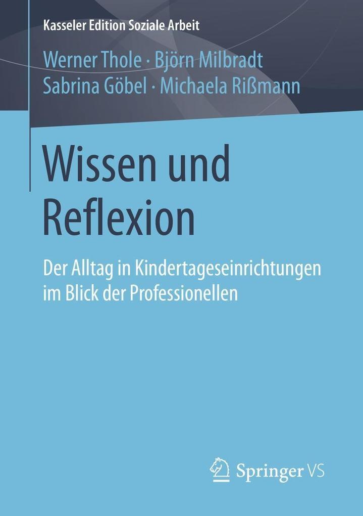 Wissen und Reflexion als eBook Download von Wer...