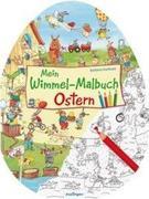 Mein Wimmel-Malbuch - Ostern