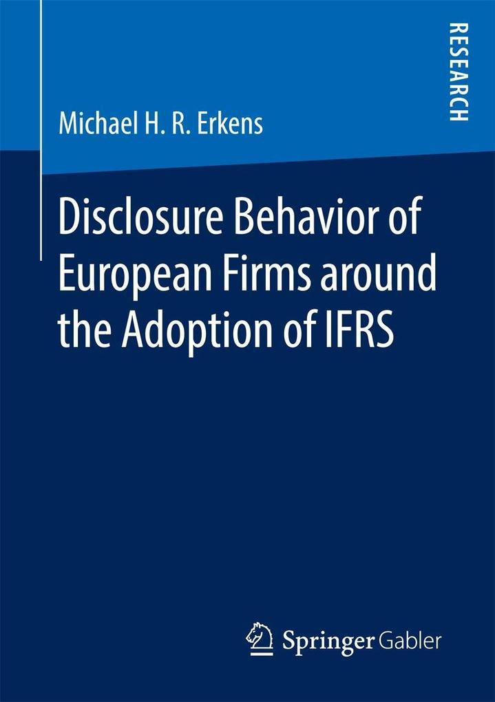 Disclosure Behavior of European Firms around th...