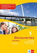 Découvertes Série jaune 5. Fit für Tests und Klassenarbeiten. Arbeitsheft mit Lösungen und Audio-CD