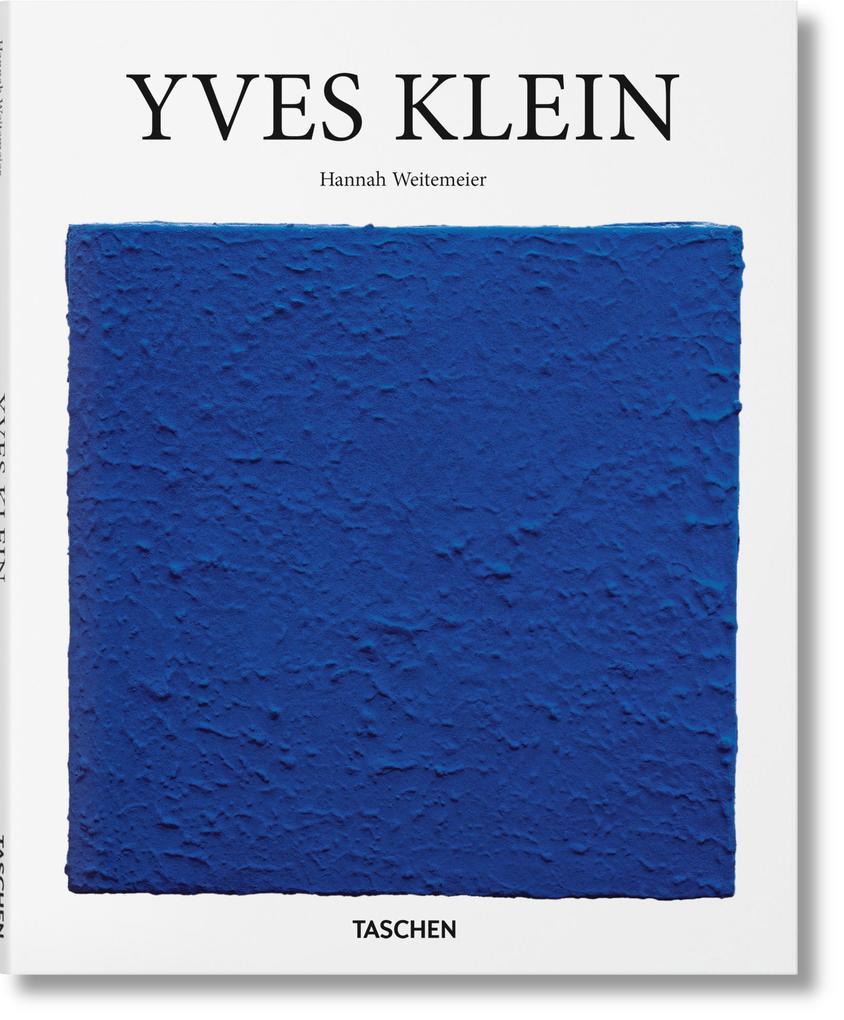 Yves Klein als Buch