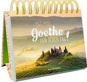 365 x Goethe für jeden Tag