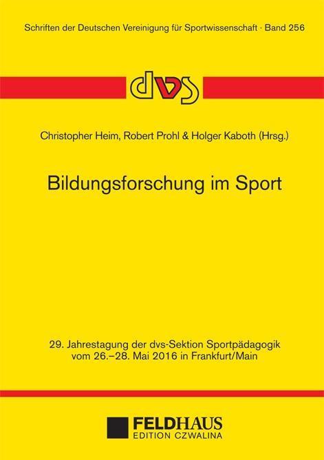 Bildungsforschung im Sport als Buch von