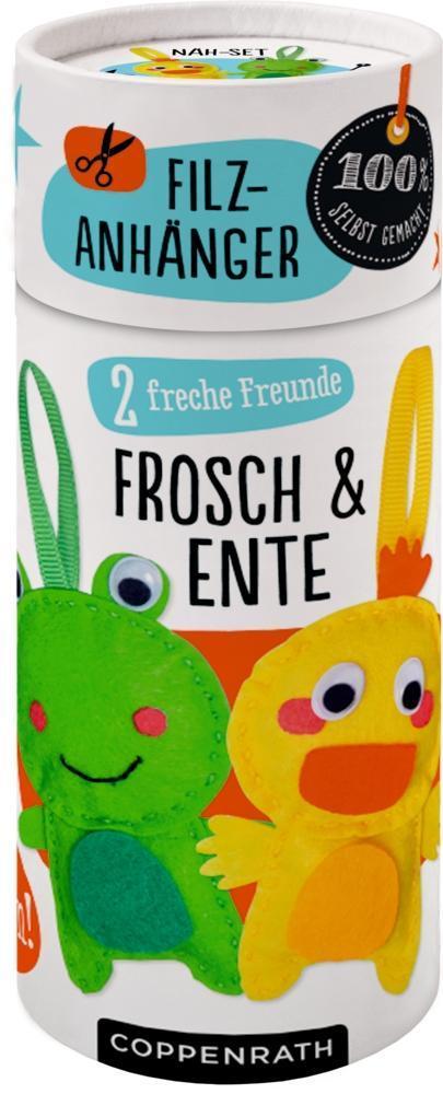 Coppenrath - Näh-Set: Filzanhänger 2 freche Fre...