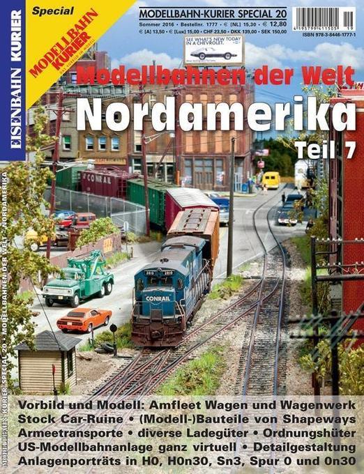 Modellbahn-Kurier Special 20. Modellbahnen der ...