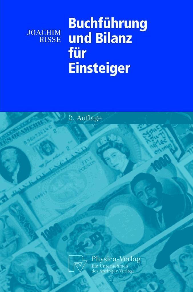 Buchführung und Bilanz für Einsteiger als Buch