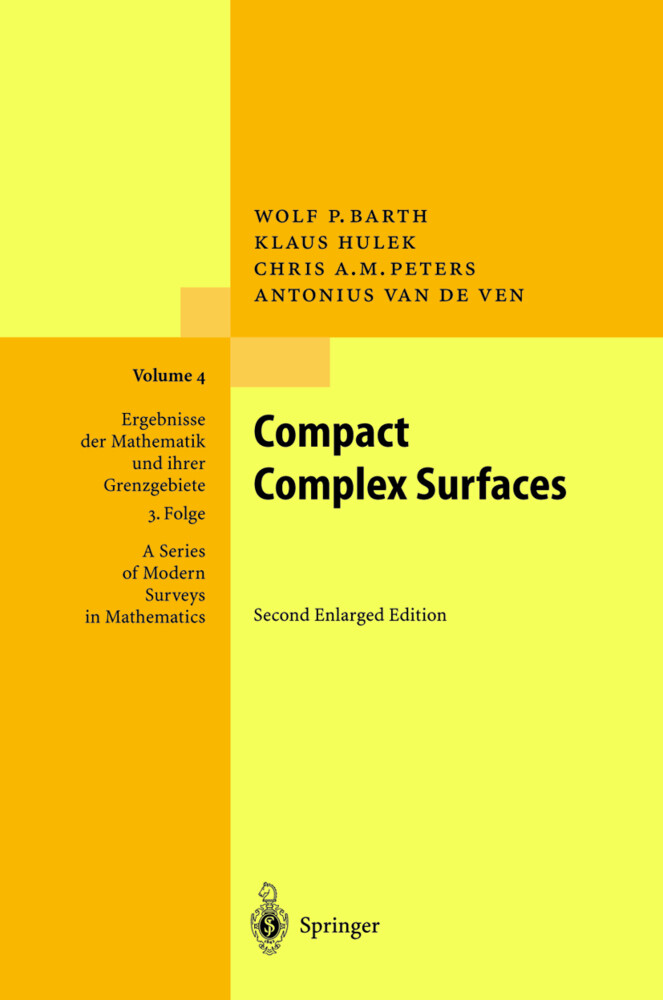 Compact Complex Surfaces als Buch
