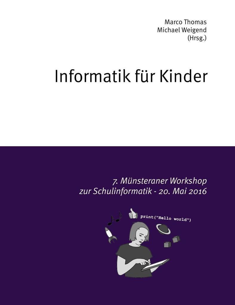 Informatik für Kinder als eBook Download von