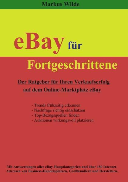 eBay für Fortgeschrittene als Buch