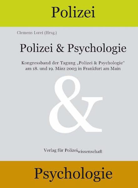 Polizei & Psychologie als Buch