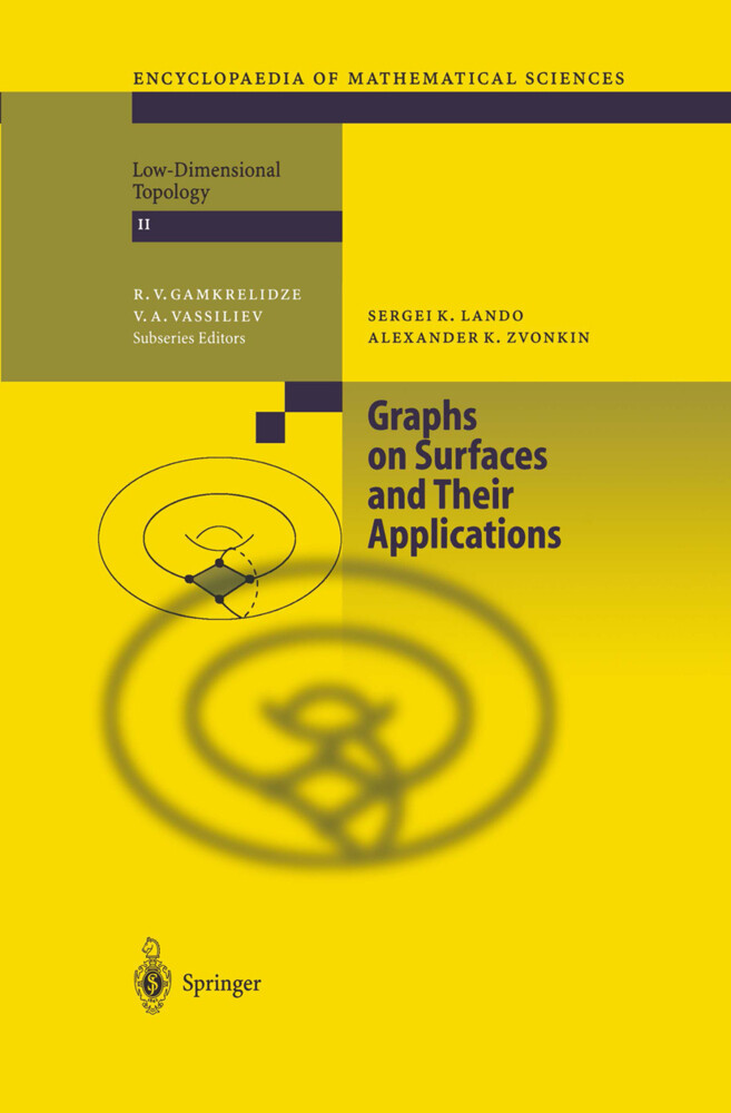 Graphs on Surfaces and Their Applications als Buch