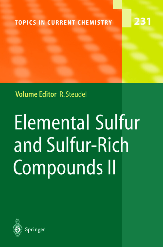 Elemental Sulfur and Sulfur-Rich Compounds II als Buch