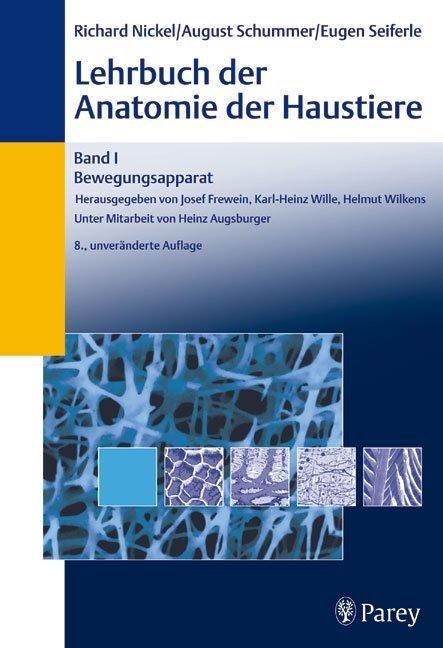 Lehrbuch der Anatomie der Haustiere 1 als Buch