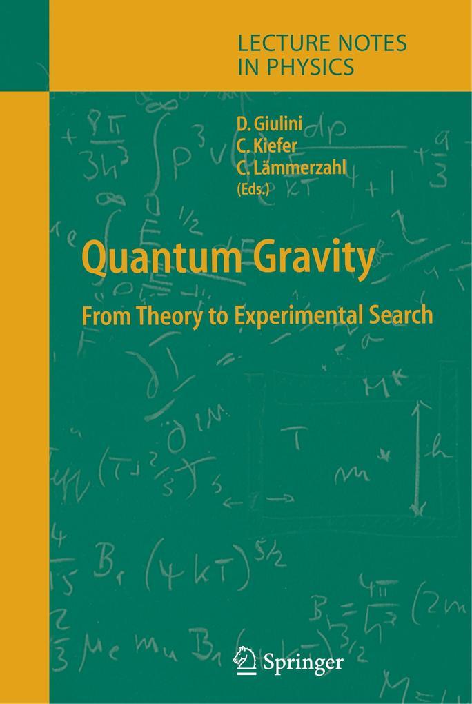 Quantum Gravity als Buch