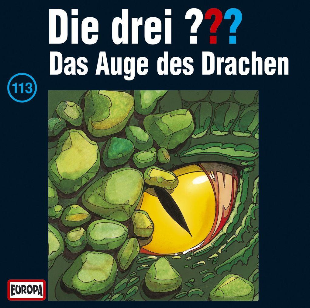Die drei ??? 113. Das Auge des Drachen (drei Fragezeichen) CD als Hörbuch