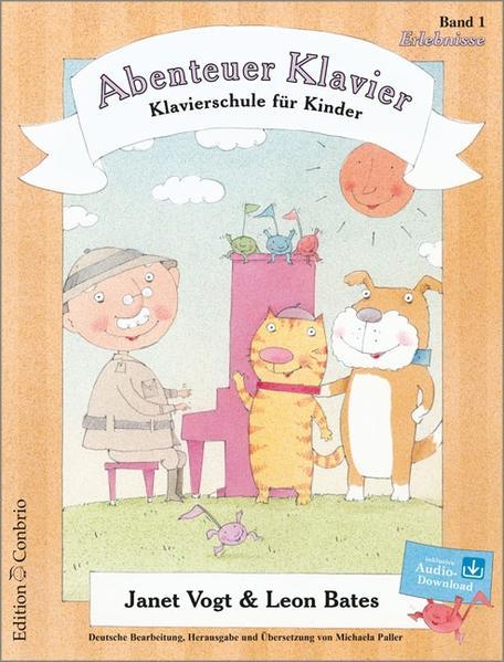 Abenteuer Klavier, Erlebnisse (1. Hauptband) als Buch