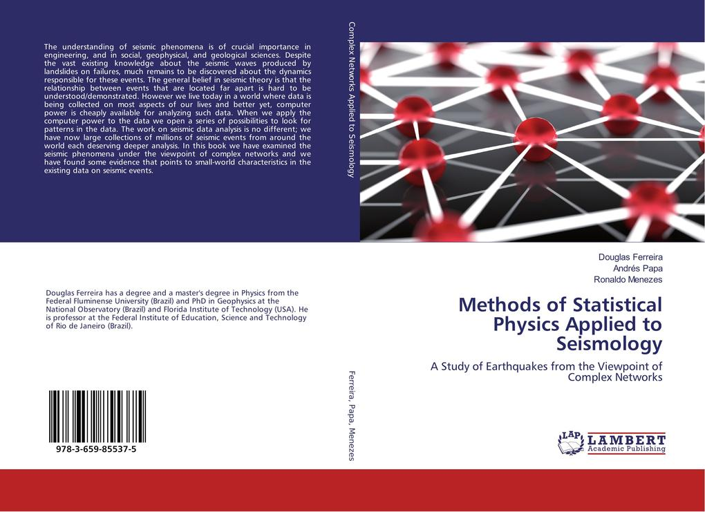 Methods of Statistical Physics Applied to Seism...