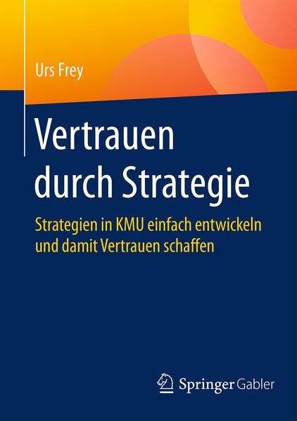 Vertrauen durch Strategie als Buch
