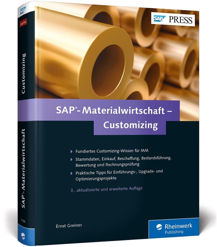 SAP-Materialwirtschaft - Customizing als Buch v...