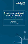 The Accommodation of Cultural Diversity