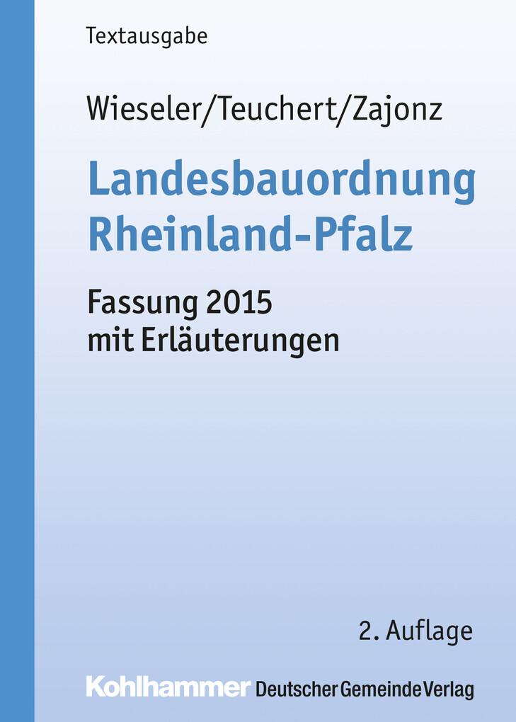 Landesbauordnung Rheinland-Pfalz als eBook Down...