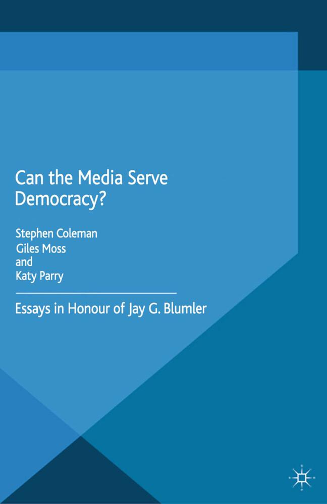 Can the Media Serve Democracy? als Buch von
