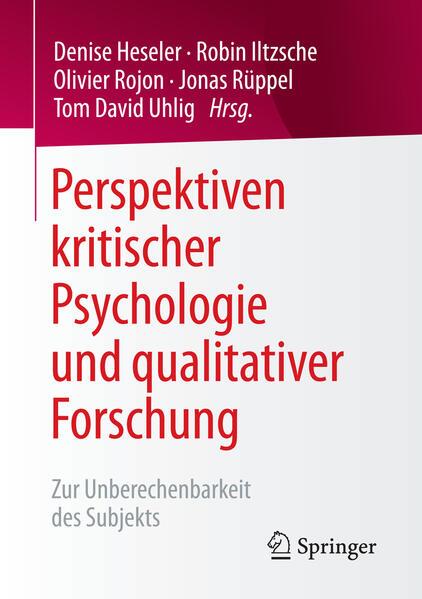 Perspektiven kritischer Psychologie und qualita...
