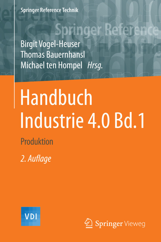 Handbuch Industrie 4.0 Bd.1 als Buch (gebunden)