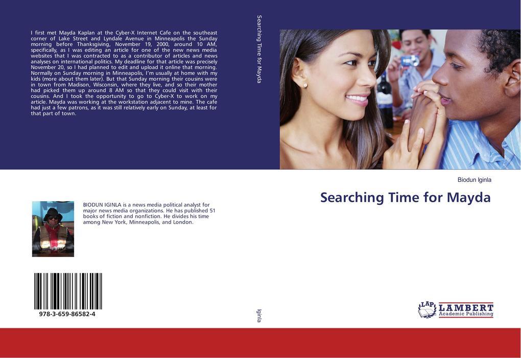 Searching Time for Mayda als Buch von Biodun Ig...