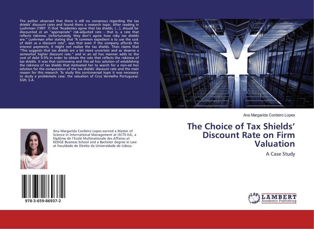 The Choice of Tax Shields´ Discount Rate on Fir...