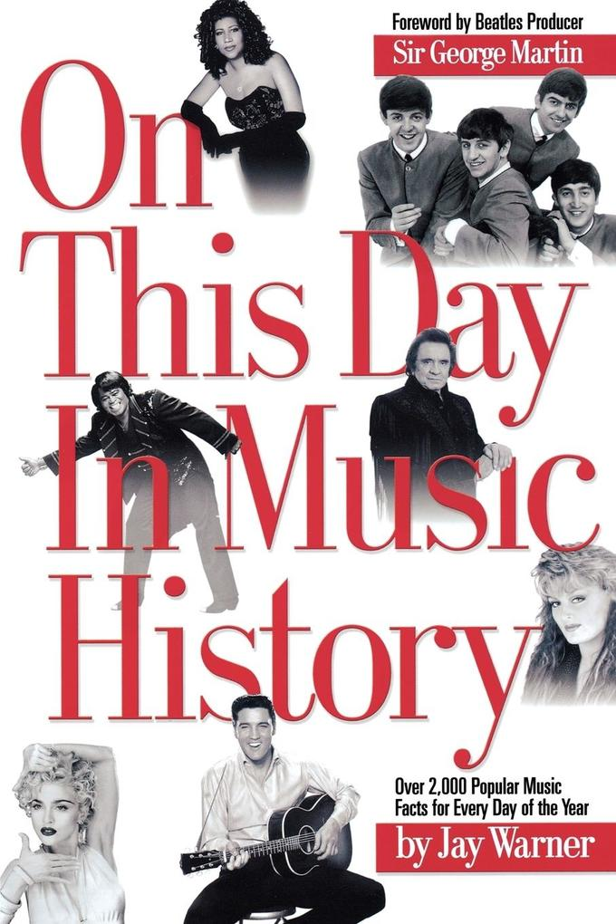 On This Day in Music History als Taschenbuch