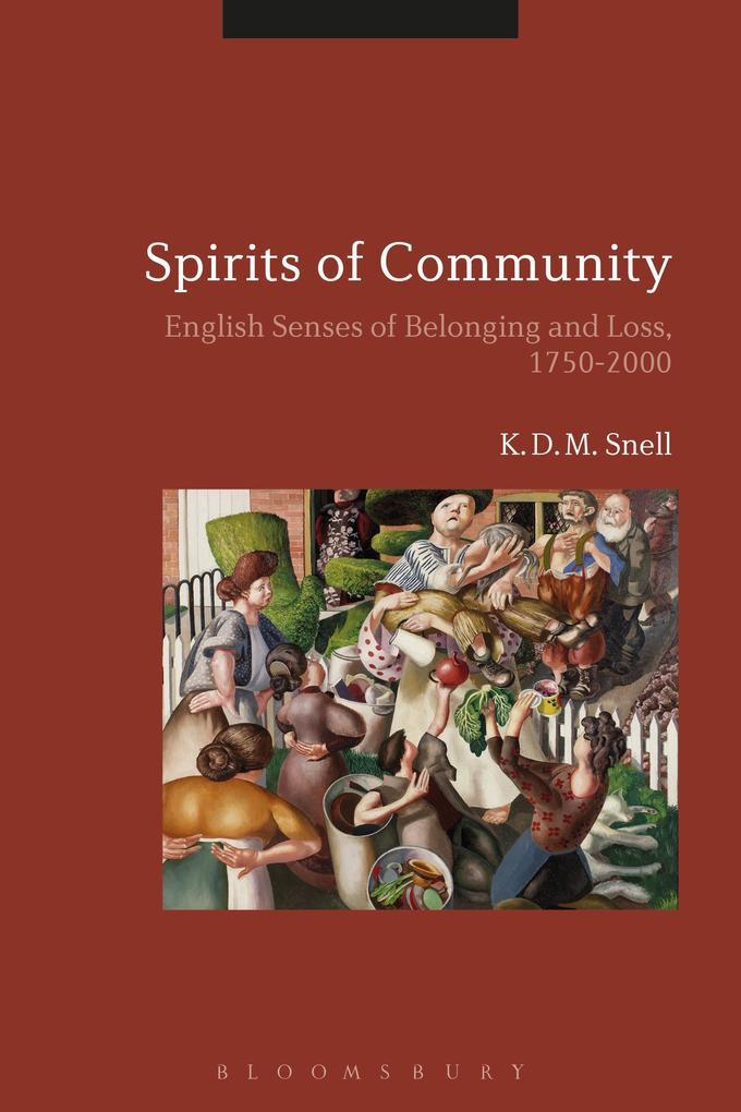 Spirits of Community als eBook Download von K. ...