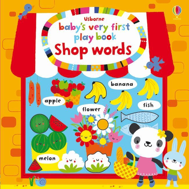 Baby´s Very First Play Book Shop Words als Buch...