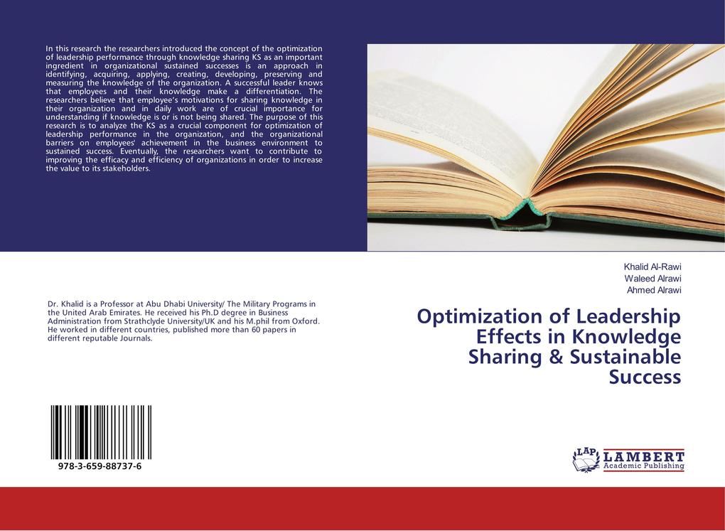 Optimization of Leadership Effects in Knowledge...