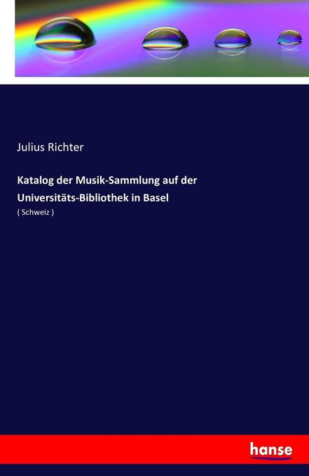 Katalog der Musik-Sammlung auf der Universitäts...