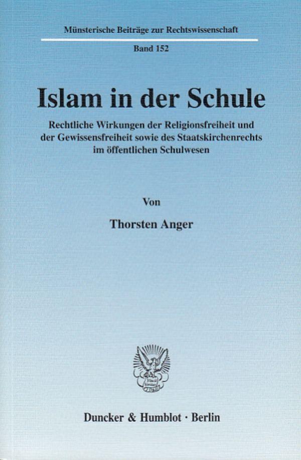 Islam in der Schule als Buch