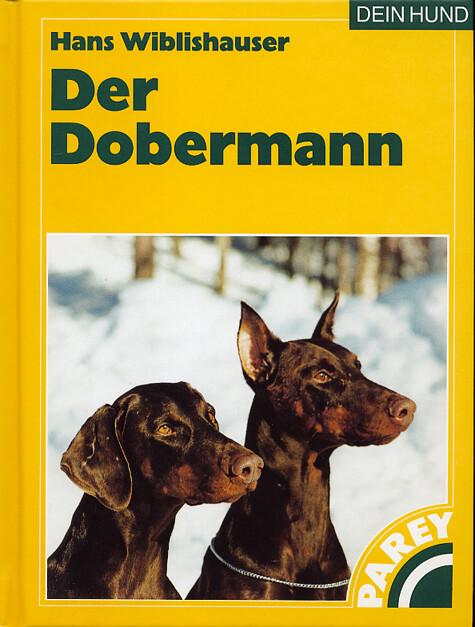 Der Dobermann als Buch