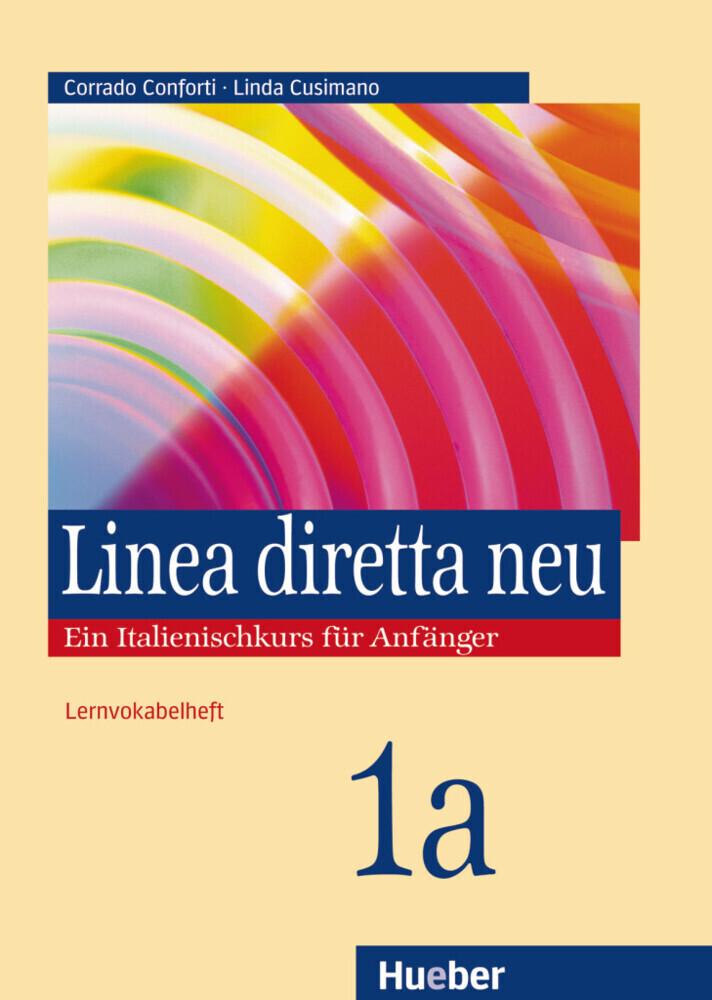 Linea diretta neu 1 A. Lernvokabelheft als Buch