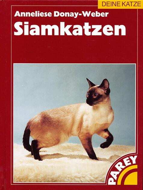 Siamkatzen als Buch