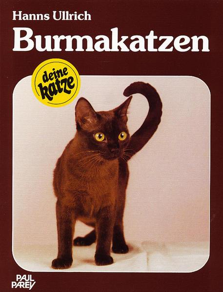 Burmakatzen als Buch
