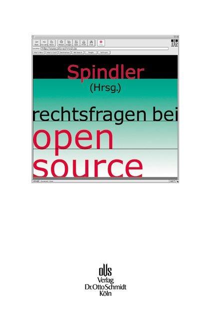 Rechtsfragen bei open source als Buch
