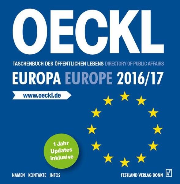 OECKL. Taschenbuch des Öffentlichen Lebens - Eu...