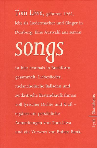 songs als Buch