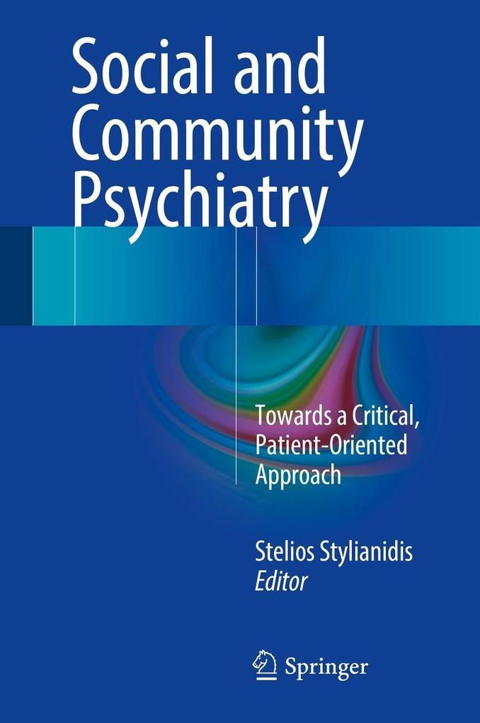Social and Community Psychiatry als eBook Downl...