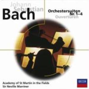 ORCHESTERSUITEN 1-4 BWV1066-69 als CD