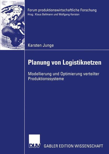 Planung von Logistiknetzen als Buch