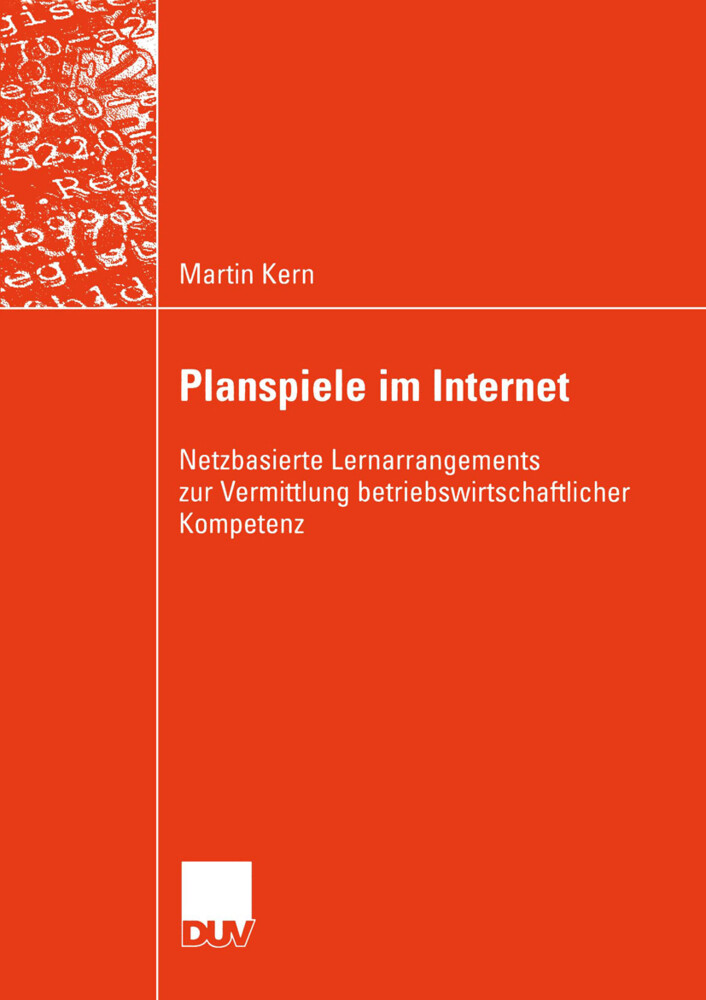 Planspiele im Internet als Buch