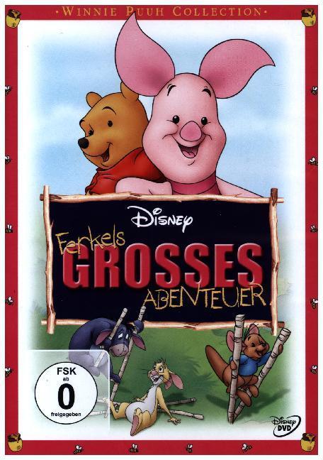 Ferkels grosses Abenteuer als DVD