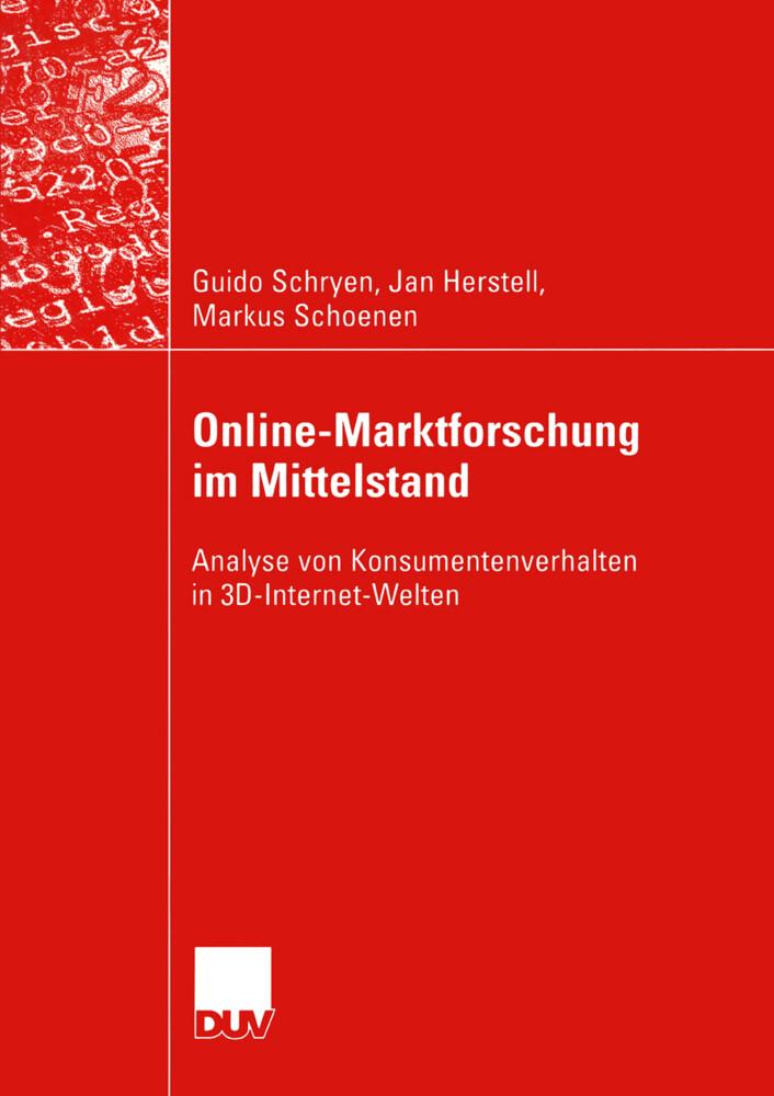 Online-Marktforschung im Mittelstand als Buch